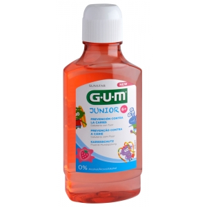 GUM Junior Rinse 6+, 300 ml